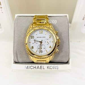 Michael Kors Oversized Blair Pavé Watch